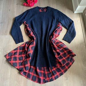 Akira Knit Sweater Dress